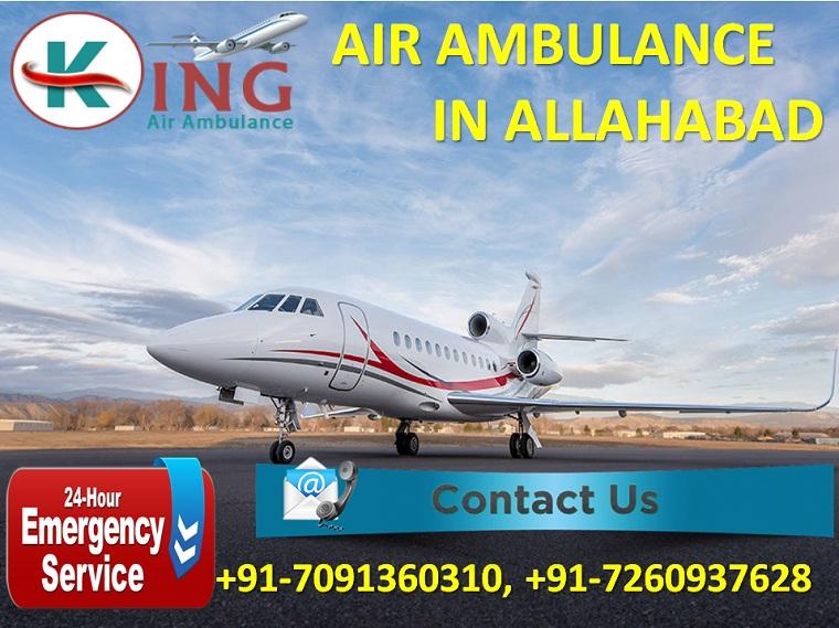 King Air Ambulance in Allahabad