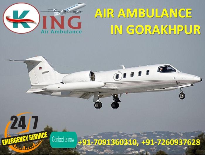 King Air Ambulance in Gorakhpur